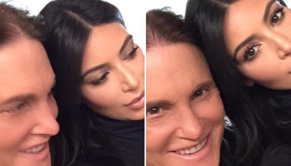 Twitter: Kim Kardashian y hermanos apoyaron a Bruce Jenner