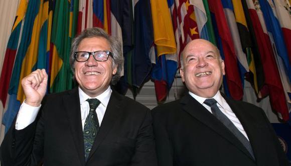 La OEA elige a uruguayo Luis Almagro como su secretario general