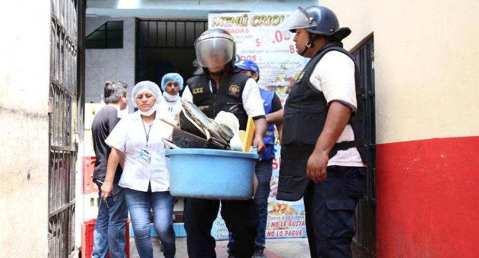Municipalidad de Lima cerró 4 cevicherías del Mercado Central - 2