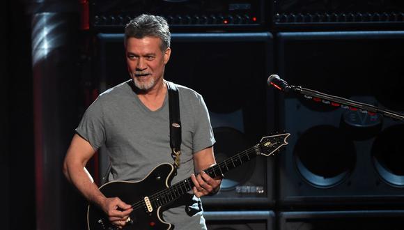 Eddie Van Halen fallece a los 65 años.(Foto: Ethan Miller / AFP)
