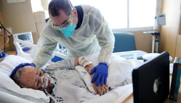 Coronavirus en Estados Unidos   Últimas noticias   Último minuto: reporte de infectados y muertos hoy, viernes 26 de febrero del 2021   Covid-19. (Foto: Mario Tama/Getty Images/AFP).