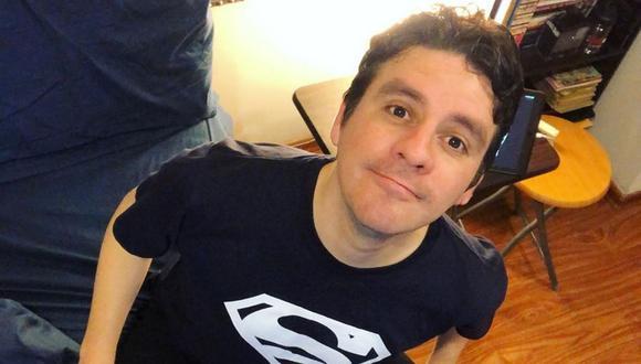 Germán Loero cuenta que sufrió un accidente cuando estaba en scooter en Miraflores. (Instagram: @germanloero).