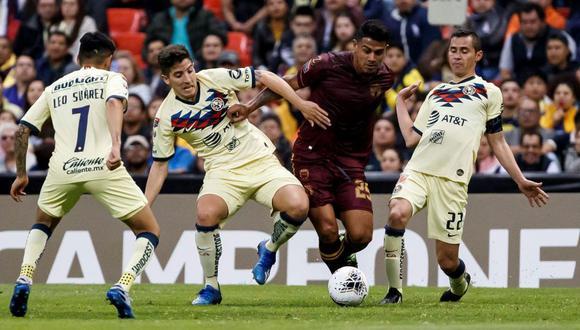 América venció en la tanda de penales a Comunicaciones y avanzó en la Concachampions | Foto: EFE