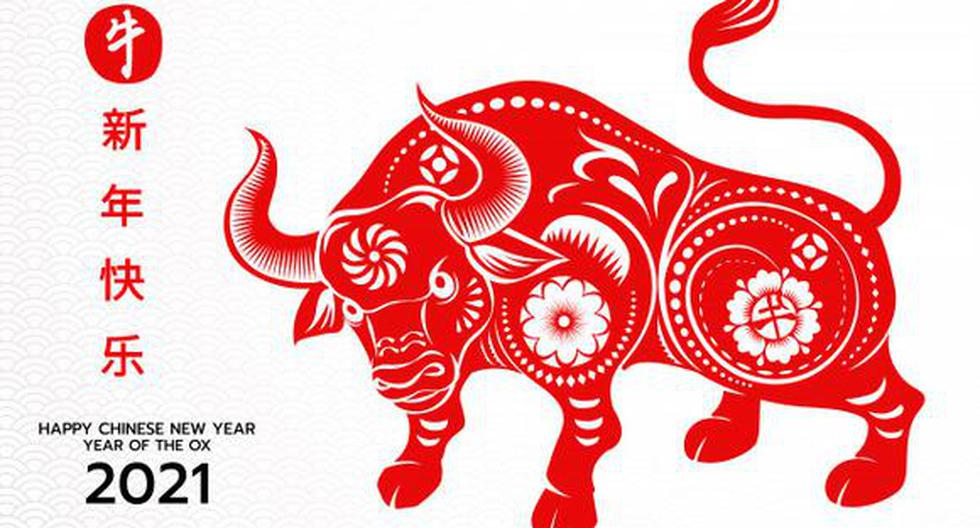 2021 Chinesisches Horoskop des Ochsen in seinem Jahr ...