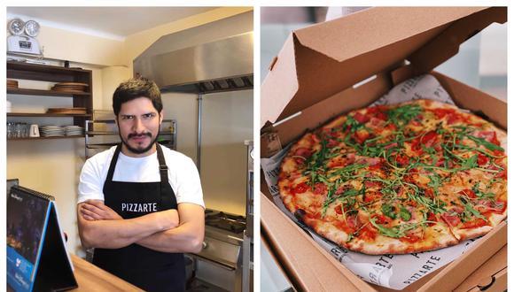En Argentina, Javier aprendió cómo se hace la masa, la pasta de tomate, cuál es la mejor mozzarella y los ingredientes ideales.