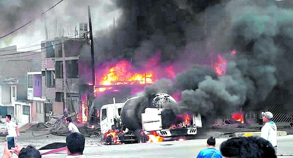 """""""Las familias de Villa El Salvador mueren porque """"lo normal"""" en el Perú es que el gas se transporte de manera informal y que choferes de 72 años con 80 papeletas sigan manejando""""."""