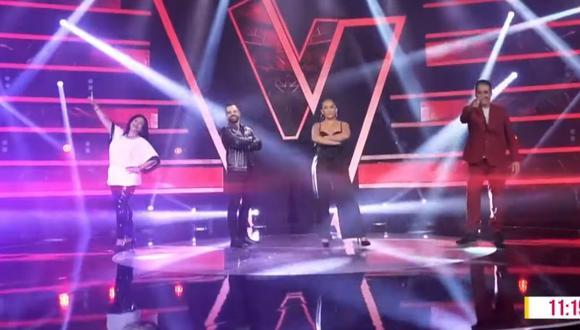 La Voz Perú volverá a la televisión peruana de la mano de cuatro coaches y diferentes talentosos participantes. (Foto: Captura Latina).