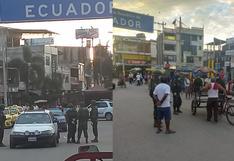 Coronavirus en Perú: Ejército de Ecuador restringe el ingreso de peruanos a suelo ecuatoriano por Covid-19   VIDEO