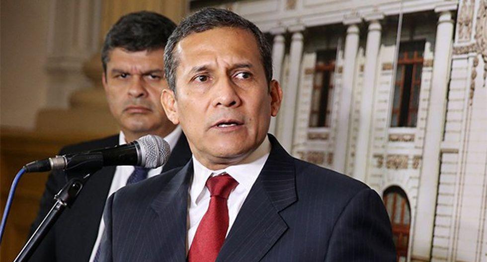 El ex presidente Ollanta Humala. (Foto: GEC)
