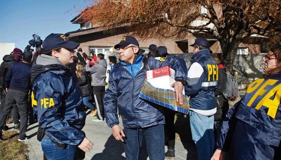 Justicia allana tercera casa de Cristina Kirchner en El Calafate donde murió Néstor (Foto: AFP)