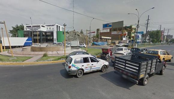 Bus se estrelló contra un puesto de seguridad en El Agustino