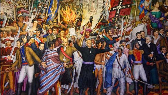 La Independencia de México se celebra el 15 de septiembre, esta fecha está marcada por el Grito de Dolores. (Foto: El Universal de México, GDA)