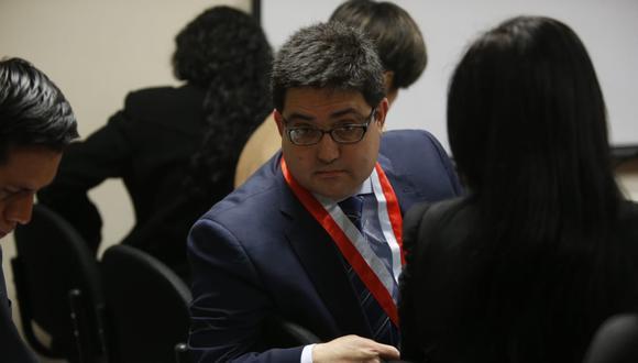 El procurador ad hoc Jorge Ramírez acudió este jueves a la audiencia por el Caso Gasoducto del Sur. (Foto: Mario Zapata/GEC)