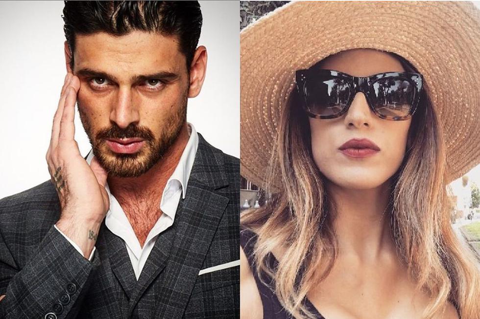 Rouba Saadeh es el nombre de la exesposa de Michele Morrone, con quien tiene dos hijos (Foto: Instagram)