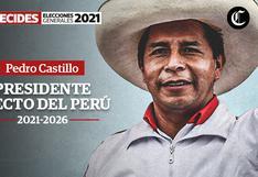 Pedro Castillo, presidente electo del Perú EN VIVO: Últimas noticias, hoy 26 de julio