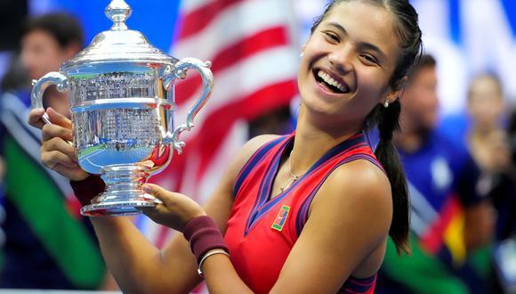 Emma Raducanu ganó el US Open frente a Leylah Fernandez. (Foto: USA Today)
