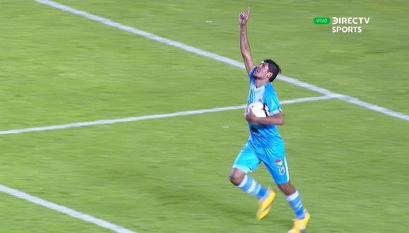 Héctor Zeta anotó el 2-1 parcial para Binacional que no ha jugado su mejor partido de la temporada. La asistencia fue de Donald Millán. (Foto: captura de video)