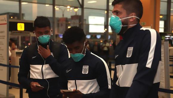 Alianza viajó en marzo a Argentina junto antes de empezar la cuarentena por el coronavirus. (Foto: Alianza Lima)