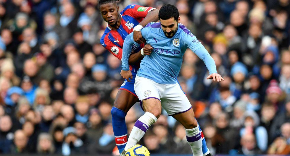 Estas son las mejores fotografías del encuentro entre el Manchester City y el Crystal Palace en la Premier League. AFP / Paul ELLIS