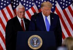 Pence rechaza invocar la 25ª Enmienda para apartar del cargo a Trump por el asalto al Capitolio
