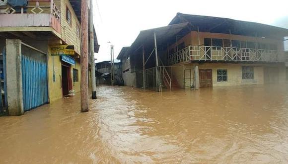 Las lluvias y desbordes en la zona han generado grandes daños materiales. (Foto: Cortesía / Junior Alcantara Cabello)