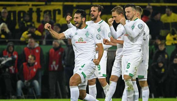 Claudio Pizarro, futbolista del Werder Bremen, ha vuelto a marcar un gol en Alemania con 40 años sobre sus espaldas. El longevo delantero peruano dio sus sensaciones al respecto. (Foto: Agencias)