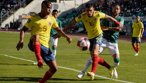 Bolivia recibió a Colombia por la jornada 9 de las Eliminatorias a la Copa del Mundo de Qatar | Foto: AFP
