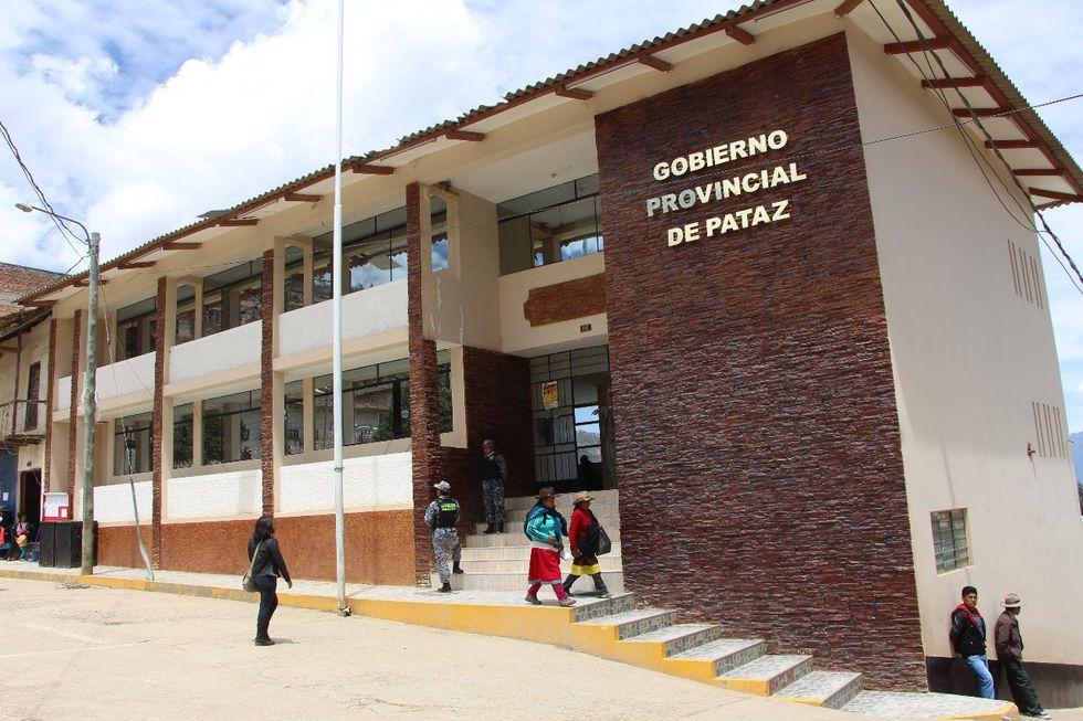 Municipalidad de Pataz. (Foto: Johnny Aurazo)