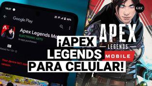 Apex Legends Mobile: EA Games, anuncia lanzamiento del videojuego para celulares