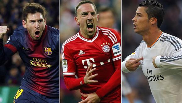 Balón de oro: los argumentos de Cristiano, Ribéry y Messi