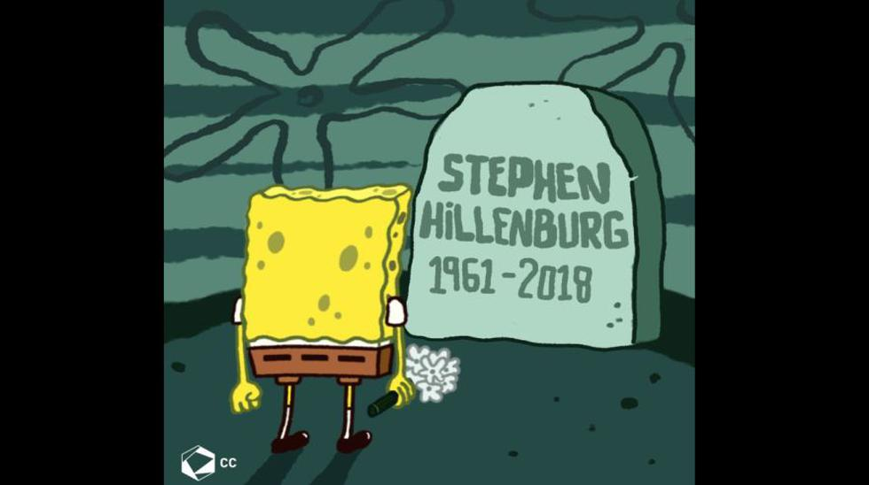 Artistas en todo el mundo rinden a Stephen Hillenburg, el creador de Bob Esponja.