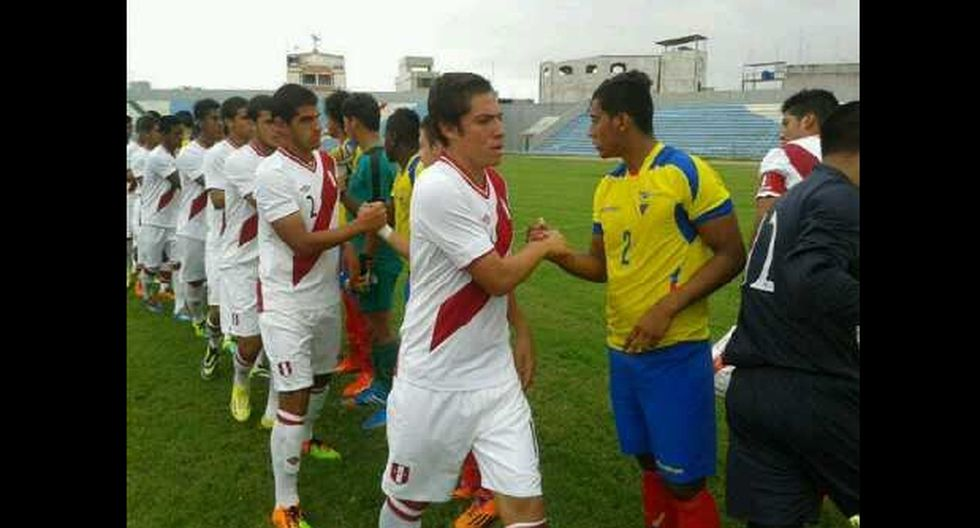 Selección Sub 20: Perú empató 2-2 de visita ante Ecuador