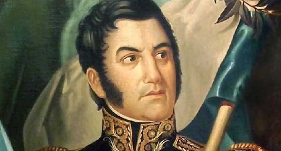 Don José de San Martín.