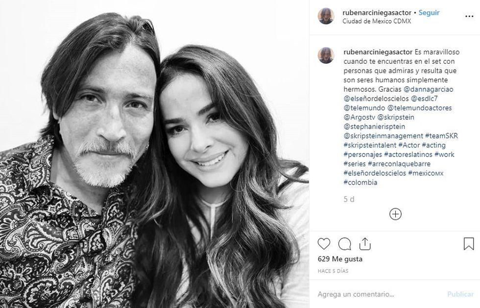 Sus compañeros de reparto se sienten felices de trabajar con ella (Foto: Instagram)
