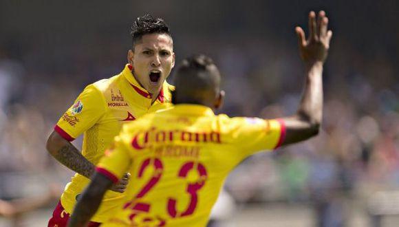 Morelia empató ante Pumas: Raúl Ruidíaz contribuyó con un tanto