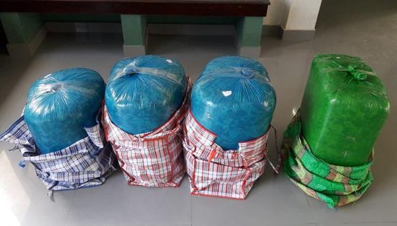 PNP decomisa más de 230 kilos de hoja de coca en Junín y Huancavelica