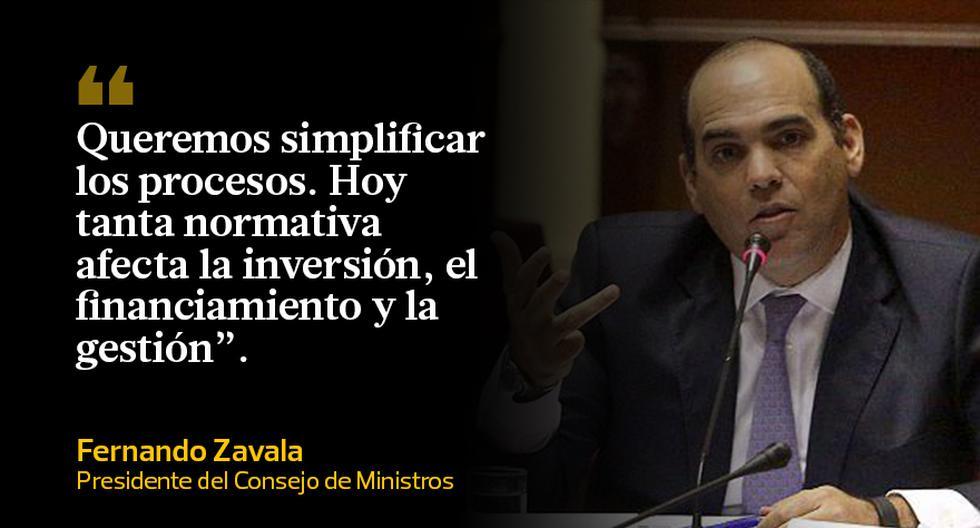 Las frases de Fernando Zavala en la Comisión de Constitución - 10