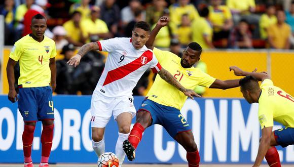Perú enfrentaría a Ecuador en noviembre próximo. (Foto: Reuters)