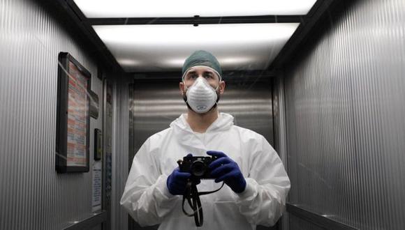 El hospital donde trabaja Paolo Miranda se encuentra en el epicentro del brote de coronavirus en Italia. (Foto: Paolo Miranda, via BBC Mundo)