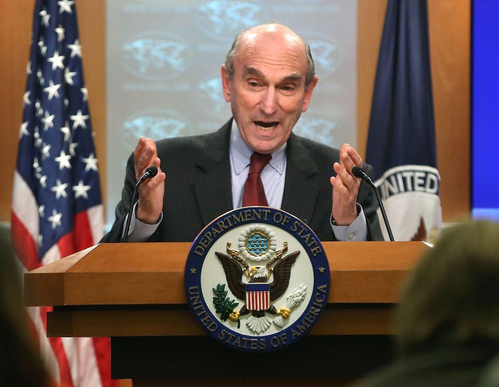 Elliott Abrams, enviado de Estados Unidos para la crisis en Venezuela. (AFP).