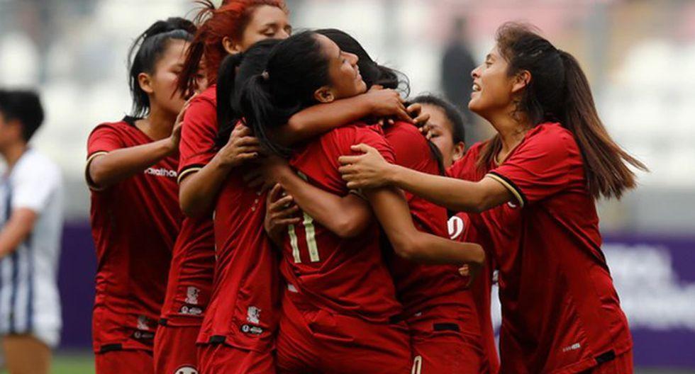 Universitario salió campeón en fútbol femenino 2019 tras golear 6-1 en la final a Amazon Sky. FOTO: GEC