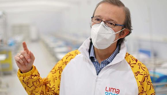 Alberto Valenzuela dirige el Proyecto Legado. Esta unidad se creó en febrero del 2020 para garantizar el mantenimiento y operación de las sedes construidas de los Juegos Panamericanos 2019. (Foto: Proyecto Legado)