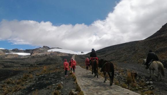 Llegar al Pastoruri puede ser una travesía de ensueño a los 5200 metros de altitud. (Foto: Gerardo Cabrera)