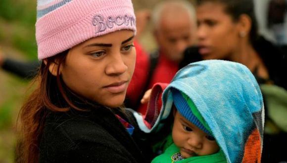 Se estima que 20.000 recién nacidos no tienen nacionalidad al ser hijos de venezolanos nacidos en Colombia. Foto: Getty images, vía BBC Mundo