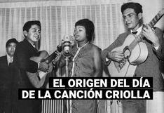 El origen del día de la canción criolla: ¿cuándo se creó esta celebración?