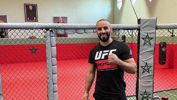 Ottman Azaitar fue expulsado de la cartelera del UFC 257. (Foto: Instagram)