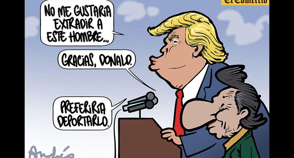 Otra vez Andrés, Alejandro Toledo