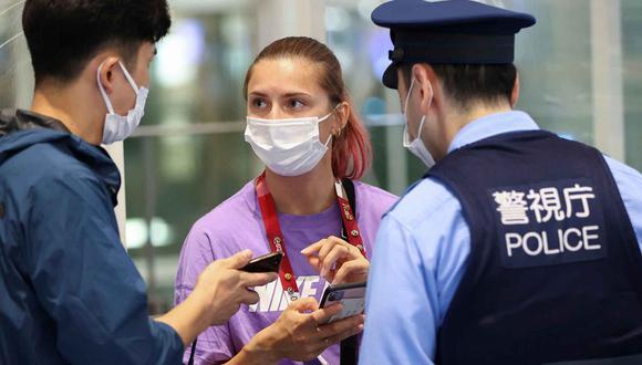 La atleta denunció que su delegación quería llevarla de vuelta a Bielorrusia tras denuncia. (Foto: Reuters)