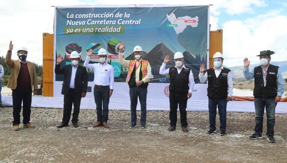 La nueva Carretera Central integrará al departamento de Lima con la carretera Longitudinal de la Sierra. (Foto: MTC)