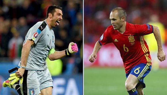 España vs. Italia: fecha, hora y canal del partido de octavos